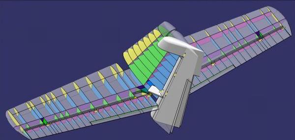 Modifikace sestavovacích přípravků ocasních ploch