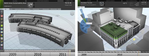Pracovní prostředí vyvíjené aplikace Autodesk Project Dasher. Foto: Autodesk