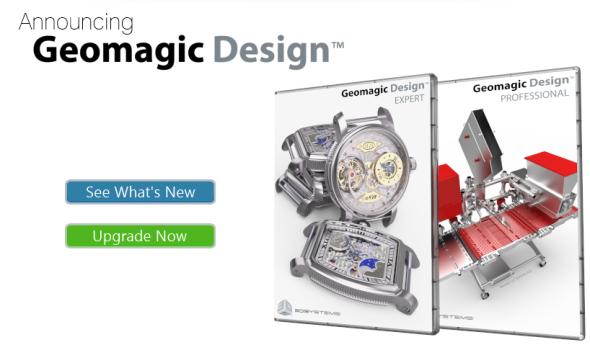 """Alibre Design jako software končí a na jeho místo nastupuje Geomagic Design, zbavený puncu """"levného"""" softwaru."""