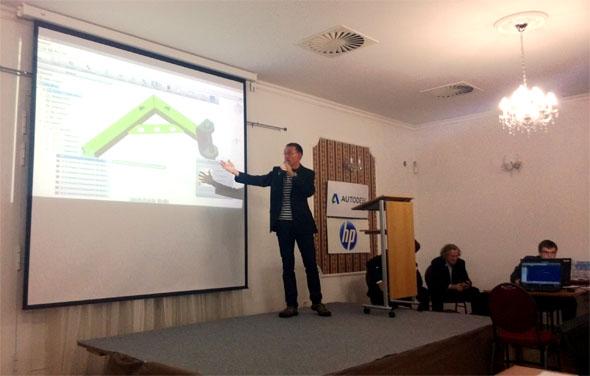 Václav Prchlík a jeho kolegové v Děčíně pro Autodesk vyvíjejí vážně zajímavé cloudové aplikace.