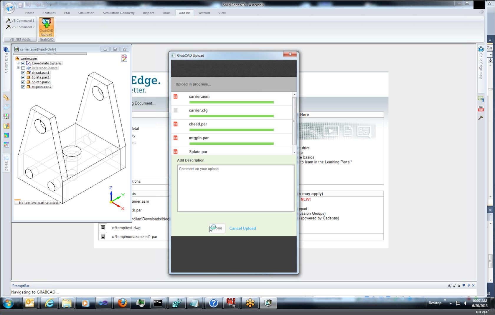 Solid Edge jako další CAD v cloudu? Ano i ne, každopádně svojí cestou