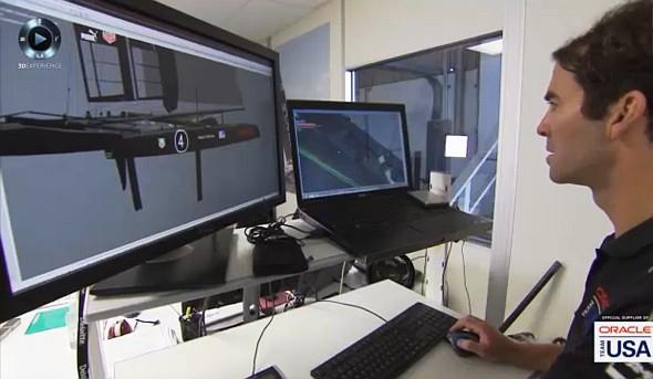 Tvorba digitálního prototypu jachty v systému Catia. Zdroj: DS