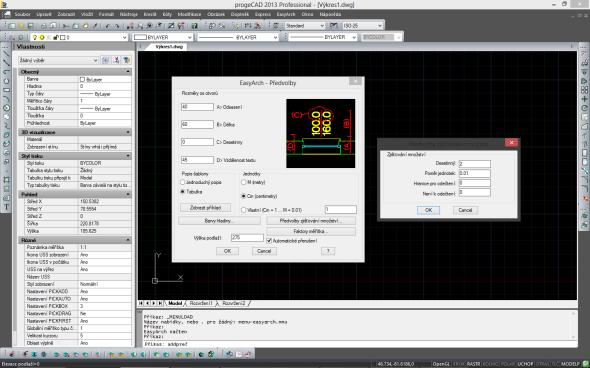ProgeCAD Professional je vybaven českým uživatelským rozhraním. Zdroj: SoliCAD