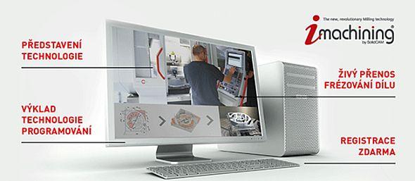 Pozvánka na webinář o technologii iMachining. Zdroj: SolidCAM CZ