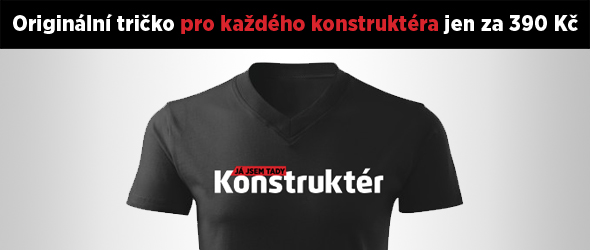 Objednávky přijímáme na e-mailu konstrukter@prumysl.cz