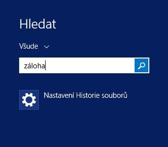 Když ve Windows 8.1 hledáte nástroj pro tvorbu zálohy, nabídne vám jen funkčně velmi omezenou aplikaci pro zálohování dokumentů, která je skoro k ničemu.