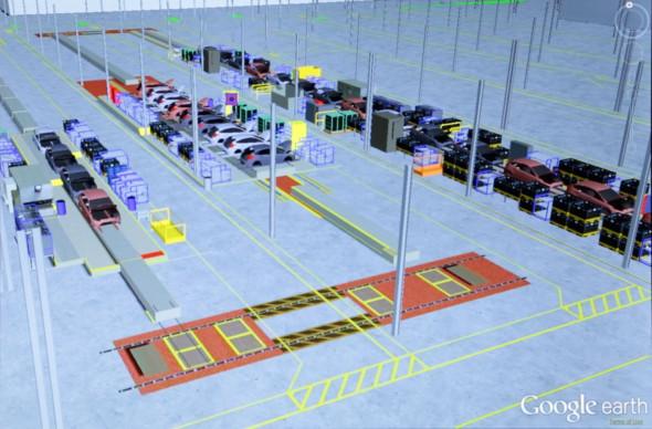 Z Google Earth si InfoSite vypůjčila jednoduché uživatelské prostředí a svižnost práce v objemnými daty. Zdroj: Ford