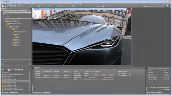 Software RTT DeltaGen je velmi oblíbený zejména v automobilkách. Pro zpracování dokonalých vizualizací ho ale využívají také výrobci spotřebního zboží, obuvi, šperků a další. Zdroj: Realtime Technology AG