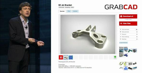 """Dostupnost ohromných digitálních zdrojů 3D dat, jako je třeba GrabCAD.com, vede ke stylu práce """"nejdřív hledej, pak konstruuj"""". Tedy zkopírujte, co můžete, ale vneste do toho pokud možno svoji vlastní novou myšlenku. Zdroj: Autodesk"""