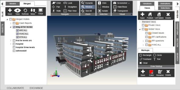 Stavební software BIM 360 přinesl Autodesku prozatím největšího zákazníka pro cloud. Zdroj: Autodesk