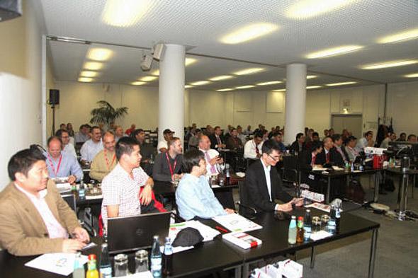 Z konference firmy SolidCAM v Hannoveru, leden 2014. Zdroj: SolidCAM