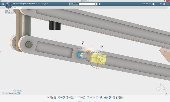 Pokud jste uživatelem systému SolidWorks, přijde vám prostředí SolidWorks Mechanical Conceptual dostatečně povědomé.