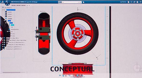 Navzdory odpůrcům cloudových technologií bylo proklamováno, že SolidWorks Mechanical Conceptual bude tak zajímavý software, že i tito pochybovači ho budou chtít začít používat, jakmile uvidí, co umí. Z toho, co bylo zatím představeno, tyto zvěsti působí věru oprávněně. Foto: Jan Homola