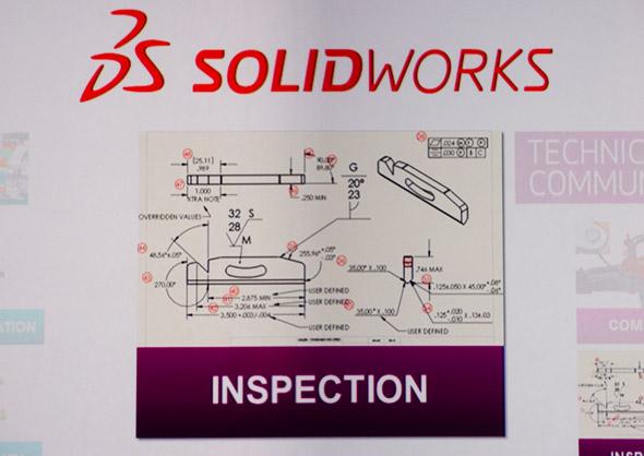Tradiční produktovou řadu v roce 2014 doprovodí nový desktopový produkt SolidWorks Inspection pro kontrolu kvality. Foto: Jan Homola