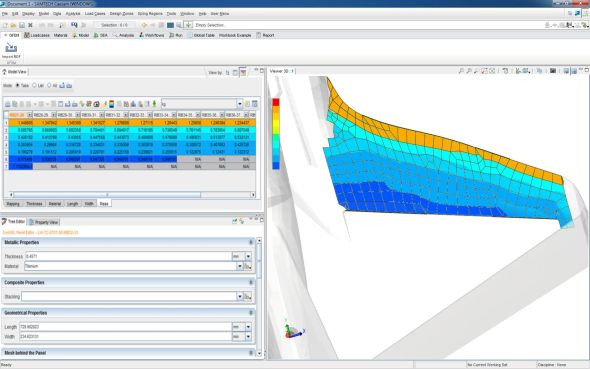 Integrace pevnostních výpočtů v systému LMS Samtech Caesam. Zdroj: Siemens/Airbus