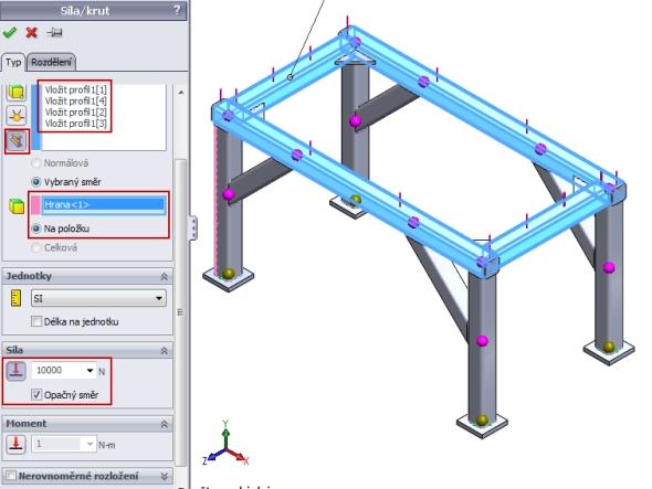 Návod: Jak zpracovat pevnostní analýzu svařované konstrukce v SolidWorks Simulation?