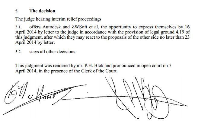Nizozemský soud shledal žalobu Autodesku na ZwSoft jako neopodstatněnou