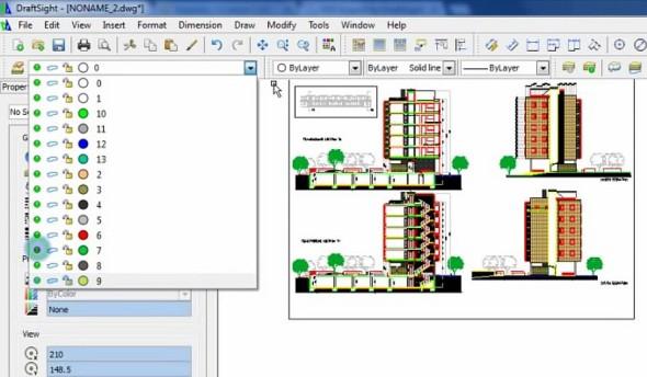Prostřednictvím plug-inu PDF Import for DraftSight můžete do softwaru načíst PDF soubor (či více souborů v dávce), přičemž DraftSight podle barevnosti rozpozná ve výkresu hladiny a po rozložení takového bloku umožní grafiku dále jednoduše upravovat. Zdroj: Gräbert