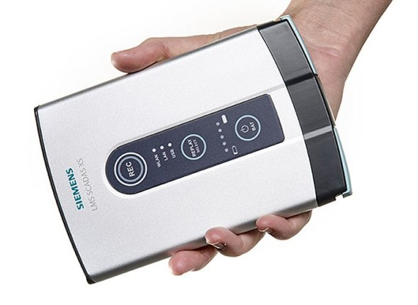 LMS Scadas XS slouží k záznamu hluku a vibrací. Zdroj: Siemens