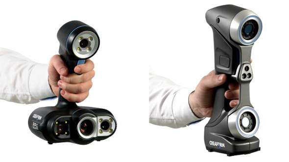 Zleva: 3D skenery GoScan 50 a HandyScan 70. Zdroj: Creaform