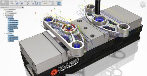 Cloudový Fusion 360 zdědil CAM nástroje po aplikaci HSMWorks. Zdroj: Autodesk