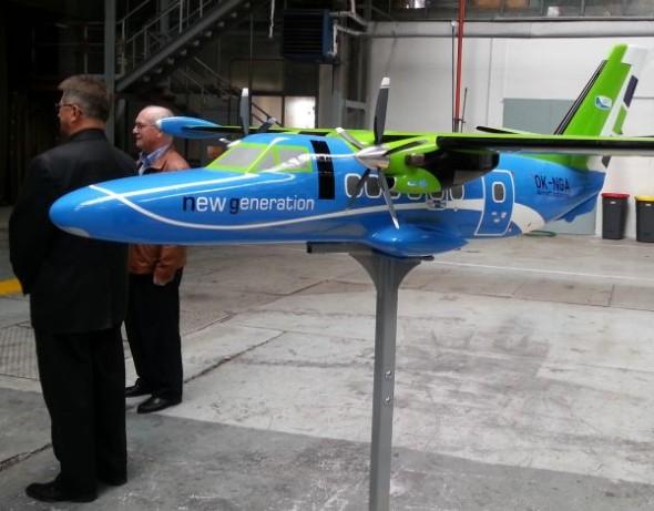 Prototyp nové generace letounu L 410 je navrhován s pomocí softwaru Catia PLM Express. Zdroj: Technodat
