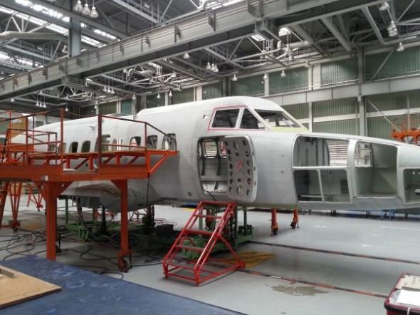 Testovací prototyp letounu by měl vzletět ještě letos. Zdroj: Technodat