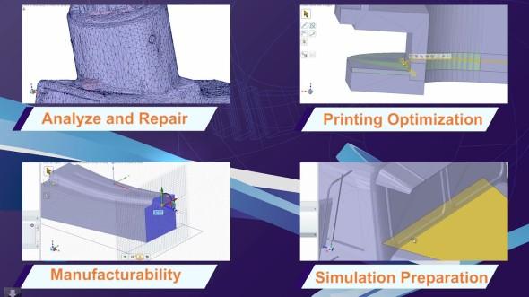 SpaceClaim Engineer je v posledních letech propagován jako CAD vhodný pro přípravu modelů ke 3D tisku. Zdroj: SpaceClaim Corp.