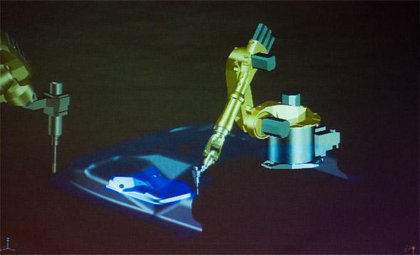 Jednou z novinek připravované verze je podpora obrábění robotem. Foto: Jan Homola