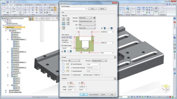Přehledné uživatelské rozhraní Solid Edge ST7. Zdroj: Siemens PLM Software