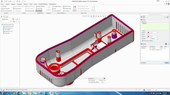 PTC Creo 3.0 nabízí lepší interoperabilitu při práci s díly a sestavami z jiných CAD systémů. Zdroj: PTC