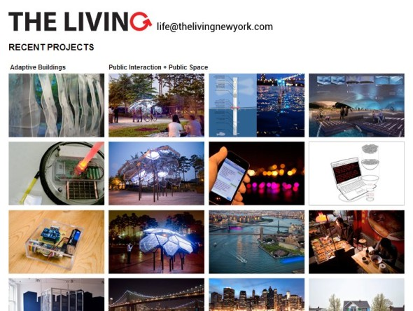 Ukázka projektů ze studia The Living. Zdroj: Thelivingnewyork.com