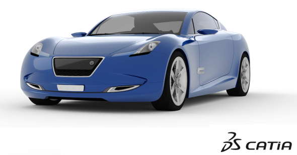 Koncept automobilu Project Bleu odhaluje možnosti vývoje na platformě 3D Experience