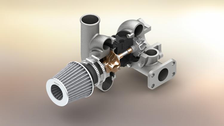 1-konstrukter-solidworks-internetova-skola-turbodmychadlo