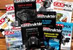 Časopis Konstruktér a web Konstrukter.cz navazují na oblíbený magazín CAXMIX.