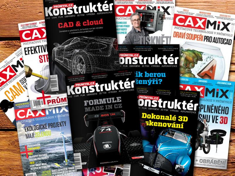 Caxmix.cz se mění na strojírenský portál Konstrukter.cz
