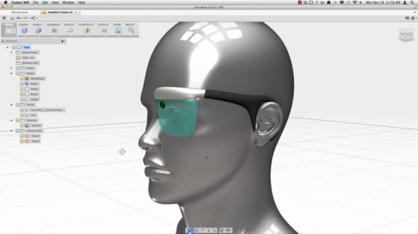 Upravit naskenovaný model v Autodesk Fusion 360 lze uchycením objektu. Foto: Autodesk Fusion 360