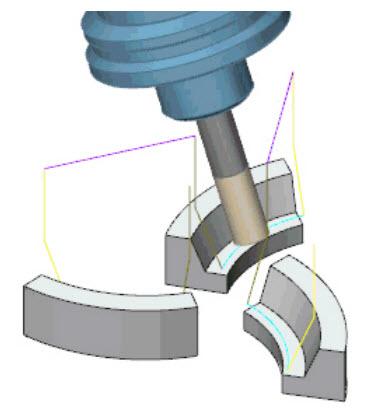 Druhá aktualizace usnadní programování dráhy nástroje pro díly s pravidelným tvarem. Foto: moduleworks.com