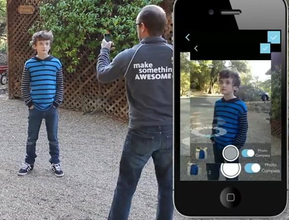 Pomocí mobilního telefonu se vytvoří série snímků. Aplikace Autodesk 123D Catch převede snímky ve 3D model. Foto: Autodesk 123D Catch