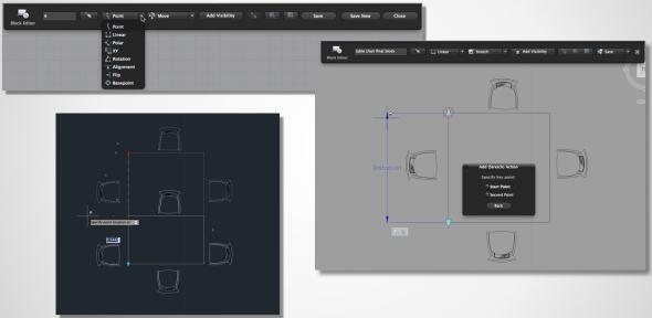 AutoCAD for Mac umožní práci s dynamickými bloky. Foto: Autodesk