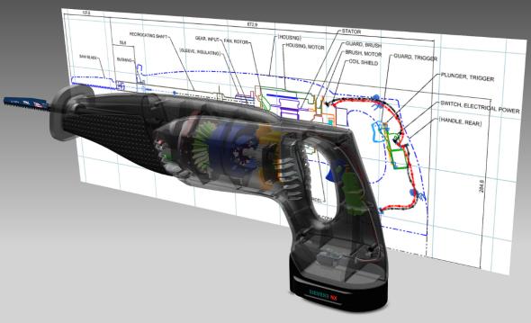 Technologie NX Realize Shape přinese konstruktérům větší kontrolu nad tvorbou geometrie. Foto: Siemens