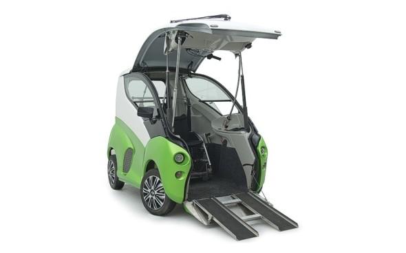 Elbee – vozidlo pro vozíčkáře (zdroj: ZLKL, CAD Studio)