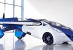 Oficiální představení třetího aeromobilu proběhlo na konferenci ve Vídni. Zdroj: YouTube