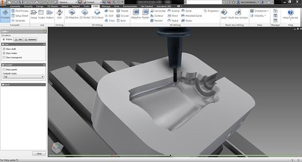 1-konstrukter-Autodesk-HSM-Inventor-2015-5axis-machining-CAM