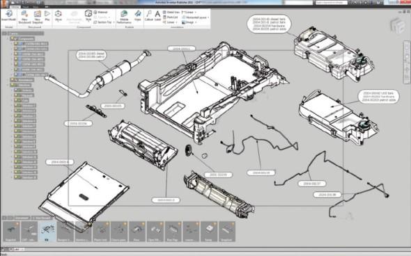 Praktické využití aplikace Inventor Publisher ve firmě API CZ.