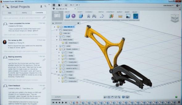První cloudový strojírenský 3D CAD Autodesk Fusion 360 pomáhá uživatelům soustředit se při vývoji výrobků na to podstatné.