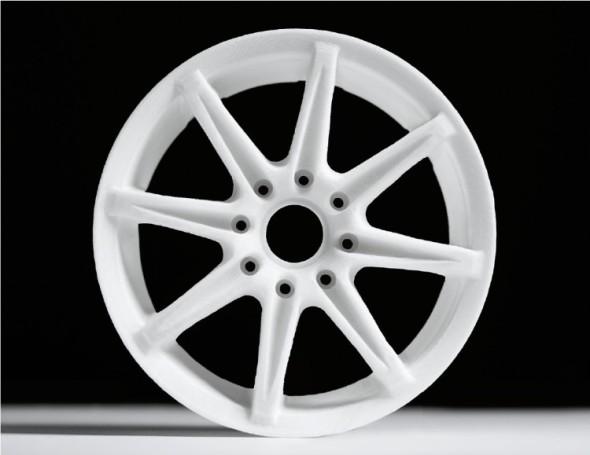 Ukázka výrobku ze 3D tiskárny Blueprinter.