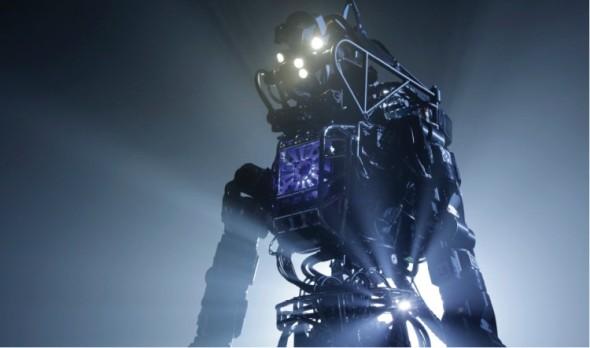 Atlas je jedním z nejvyspělejších humanoidních robotů současnosti. Laboratoř Boston Dynamics mu přisuzuje roli záchranáře.