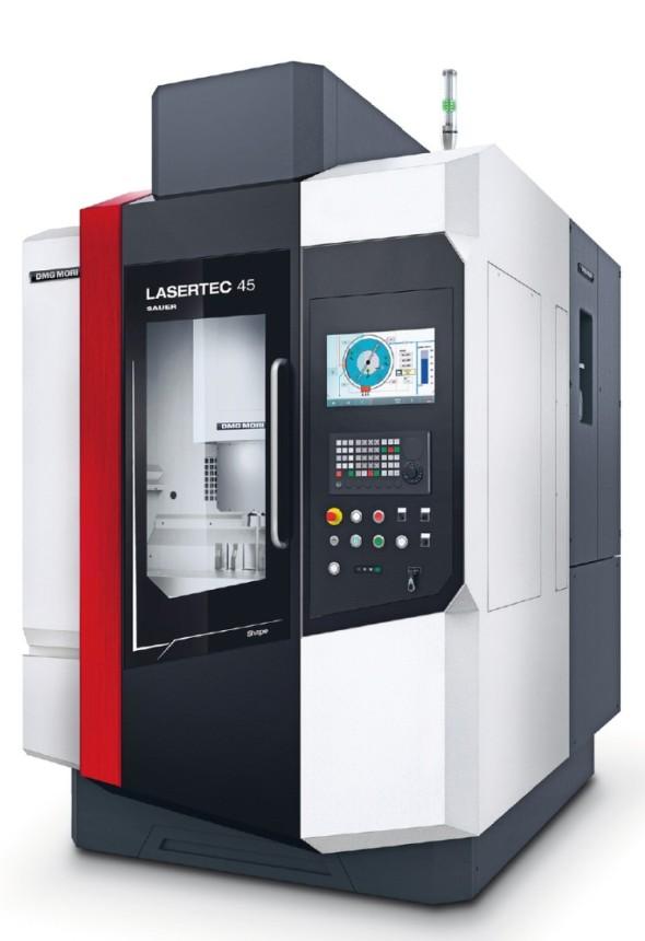Centrum LaserTec 45 Shape pro laserové obrábění.
