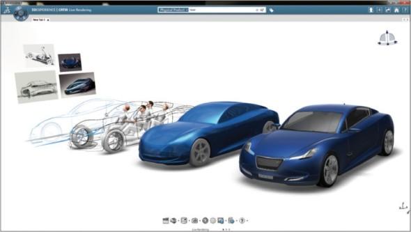 Dassault Systèmes je předním světovým dodavatelem softwarových řešení pro automobilový průmysl.